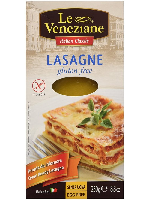 Le Veneziane Gluten Free Pasta Oven Ready Lasagne