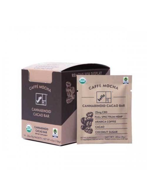 SELLOUT Kefla Organics Caffe Mocha CBD Chocolate B...