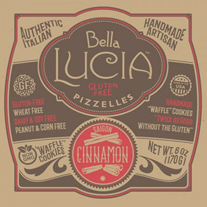 Bella Lucia Gluten Free Pie & Cheesecake Crust Mix - Cinnamon