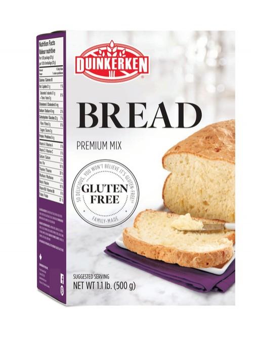 Duinkerken White Bread Mix - Gluten Free