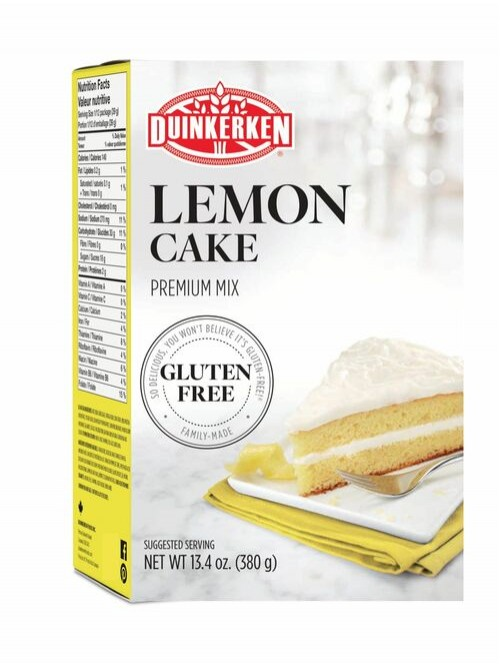 Duinkerken Lemon Cake Mix - Gluten Free