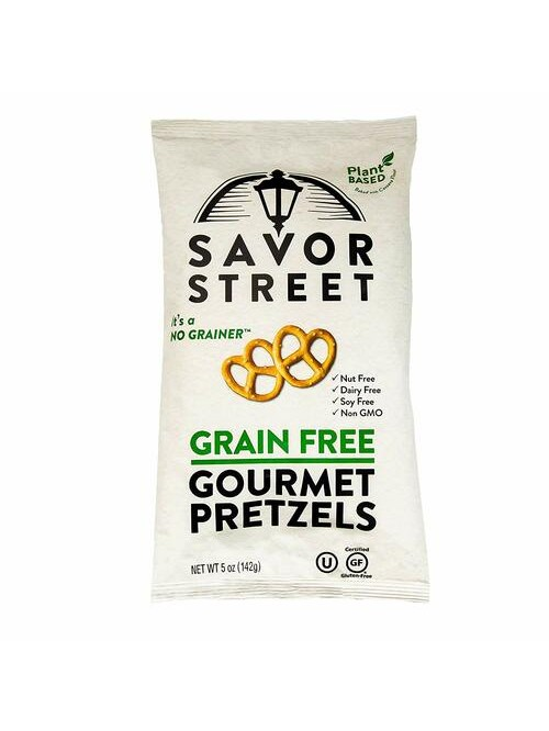 Savor Street Grain Free Gourmet Pretzels - Gluten ...