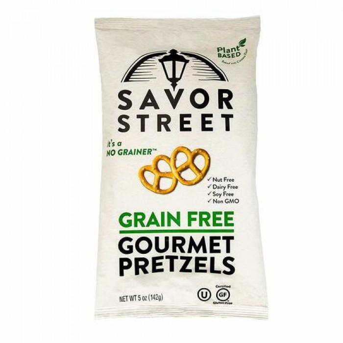 Savor Street Grain Free Gourmet Pretzels - Gluten Free