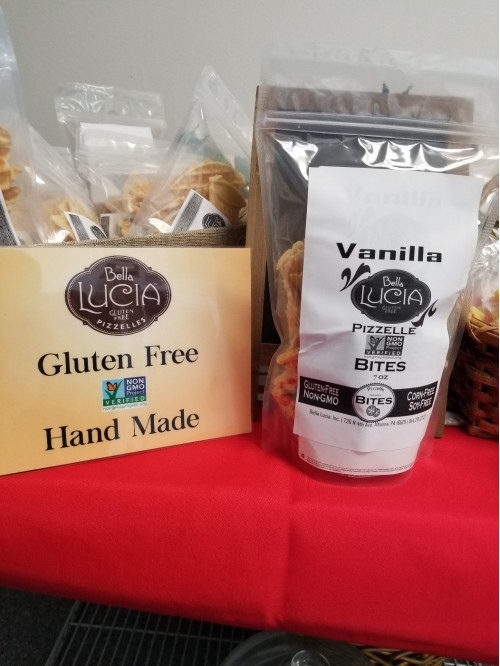 Gluten Free Pizzelle Cookie Pieces Vanilla 7 oz