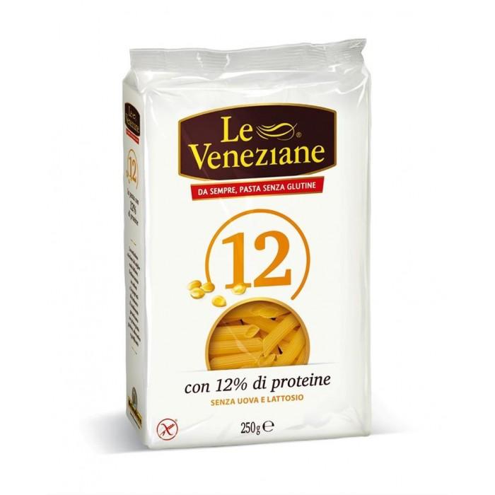 Le Veneziane 12 Gluten Free Pasta Penne plus Vegetable Protien