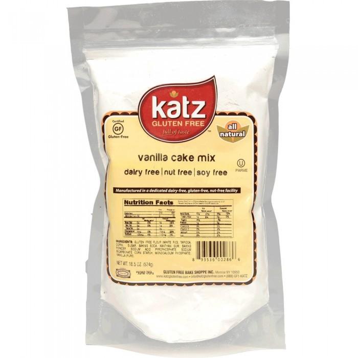 Katz Vanilla Cake Mix - Gluten Free