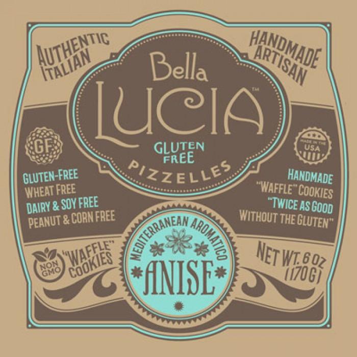 Gluten Free Pizzelle Cookies Anise Irregular CASE
