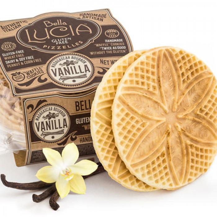 Gluten Free Pizzelle Cookies Vanilla