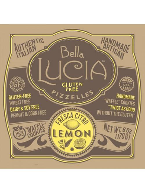 Gluten Free Pizzelle Cookies Lemon CASE