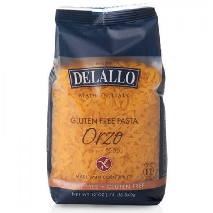 DeLallo Gluten-Free Pasta Corn & Rice Orzo