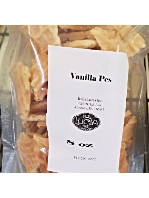 Gluten Free Pizzelle Cookie Pieces Vanilla 8 oz