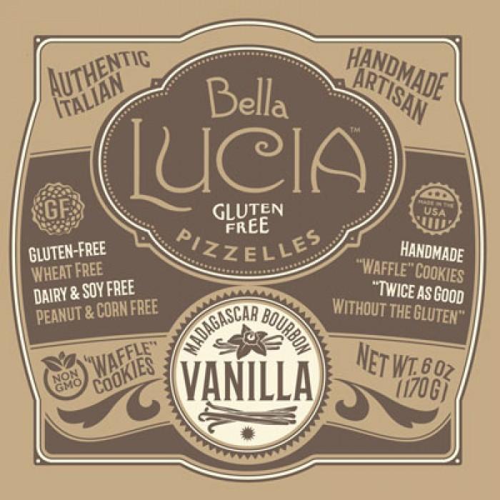Gluten Free Pizzelle Cookies Vanilla CASE