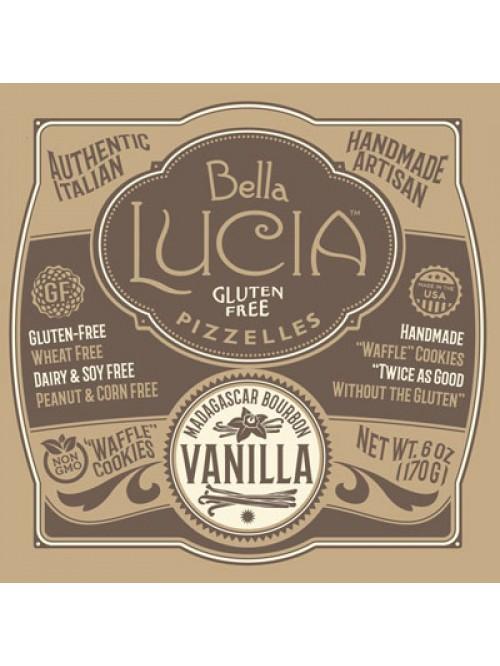 Gluten Free Pizzelle Cookies Vanilla Irregular CAS...