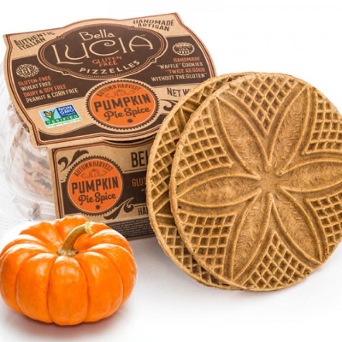 Gluten Free Pizzelle Cookie Pumpkin Pie Spice