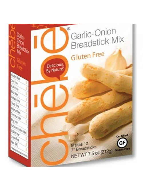 Chebe Gluten Free Garlic Onion Breadsticks