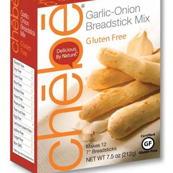 Chebe Gluten Free Garlic Onion Breadsticks