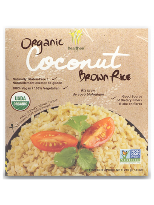 Organic Coconut Brown Rice