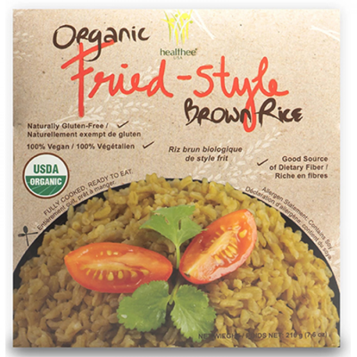 Healthee Gluten Free Organic Fried Style Rice