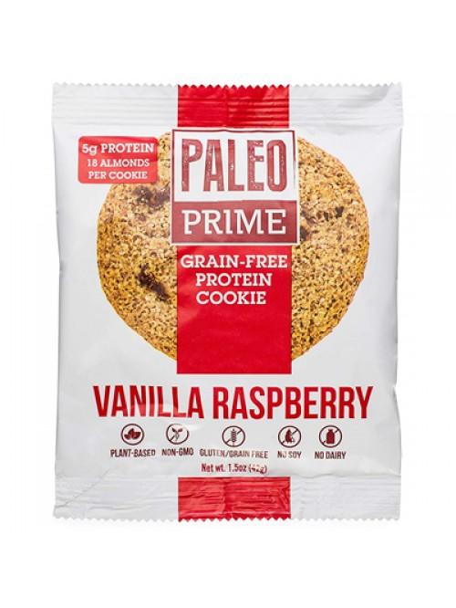 Paleo Prime Grain-Free Protein Cookie Vanilla Rasp...