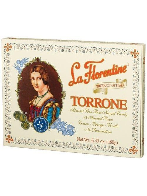 La Florentine Traditional Torrone Soft Nougat with...