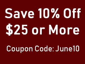 10% Percent Off $25 or More