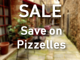 Sale on Pizzelles
